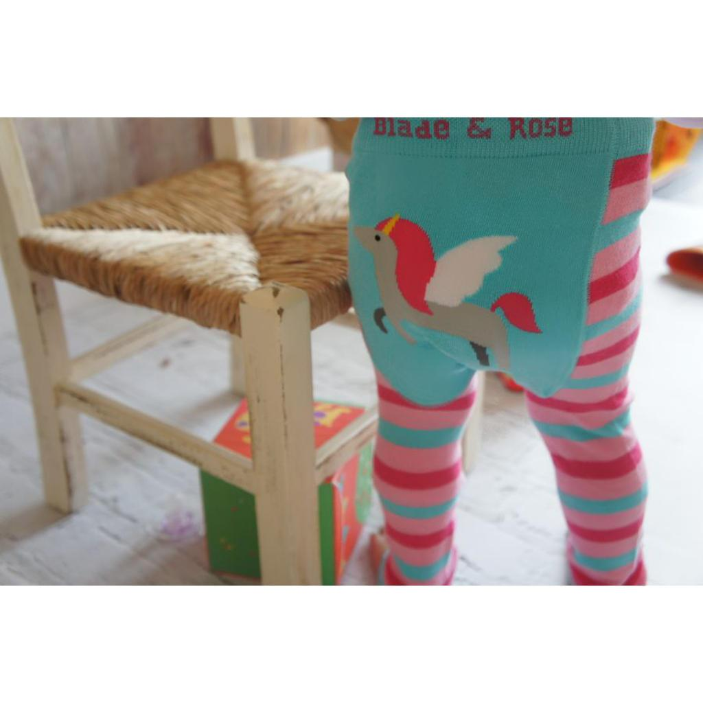 Bambinista-BLADE & ROSE-Bottoms-Leggings Unicorn