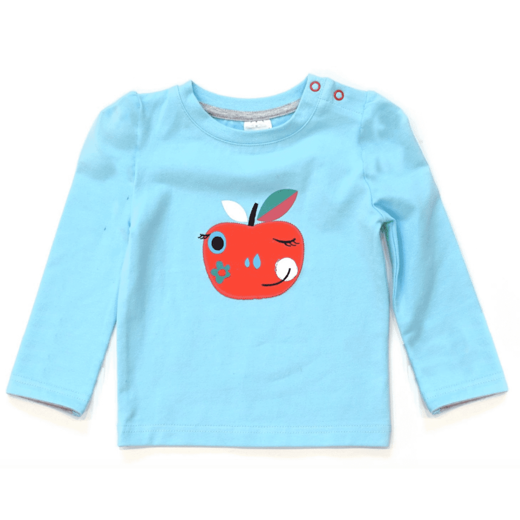Bambinista-BLADE & ROSE-Tops-Long Sleeve T-Shirt Apple