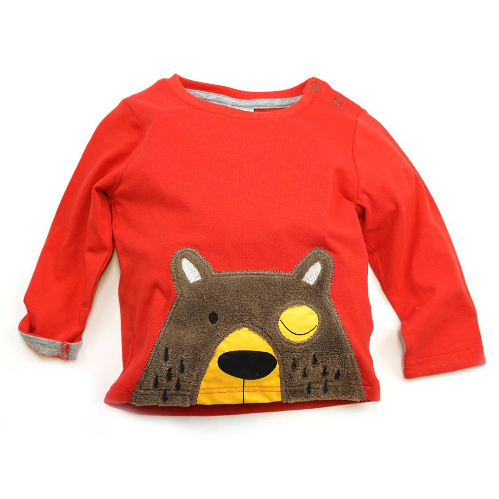 Bambinista-BLADE & ROSE-Tops-Long Sleeve T-Shirt Big Brown Bear