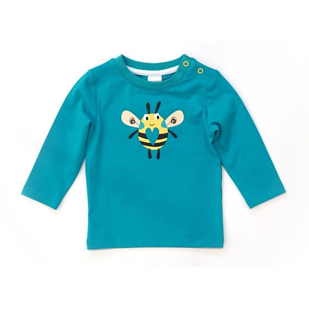 Bambinista-BLADE & ROSE-Tops-Long Sleeve T-Shirt Buzzy Bee