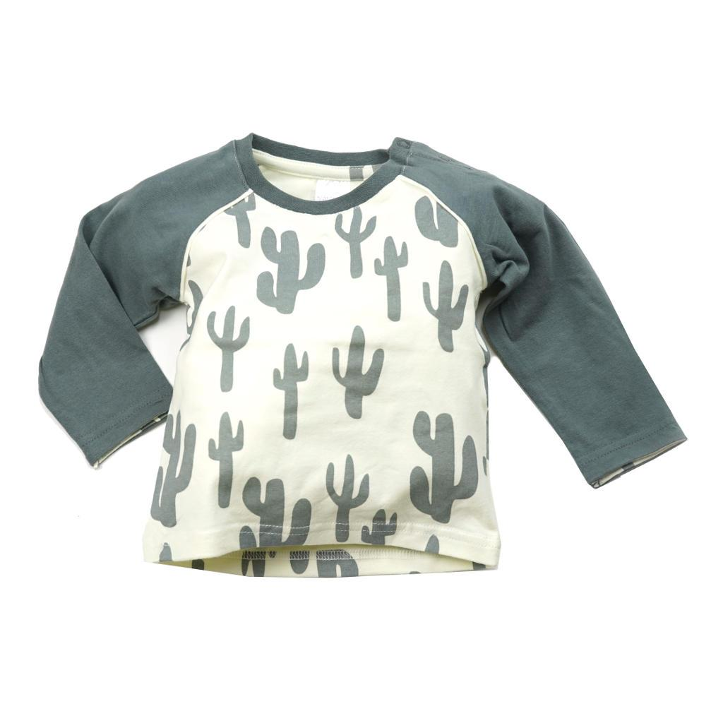 Bambinista-BLADE & ROSE-Tops-Long Sleeve T-Shirt Cactus