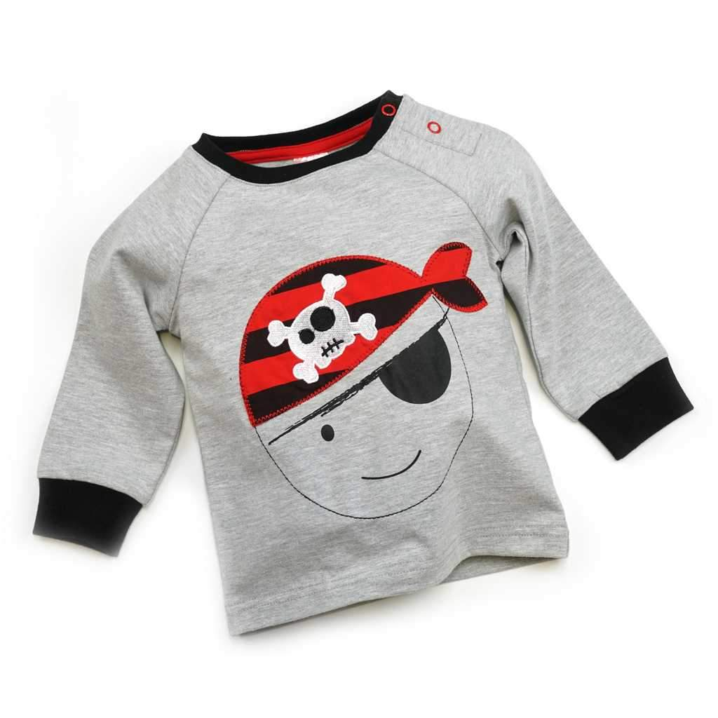 Bambinista-BLADE & ROSE-Tops-Long Sleeve T-Shirt Pirate