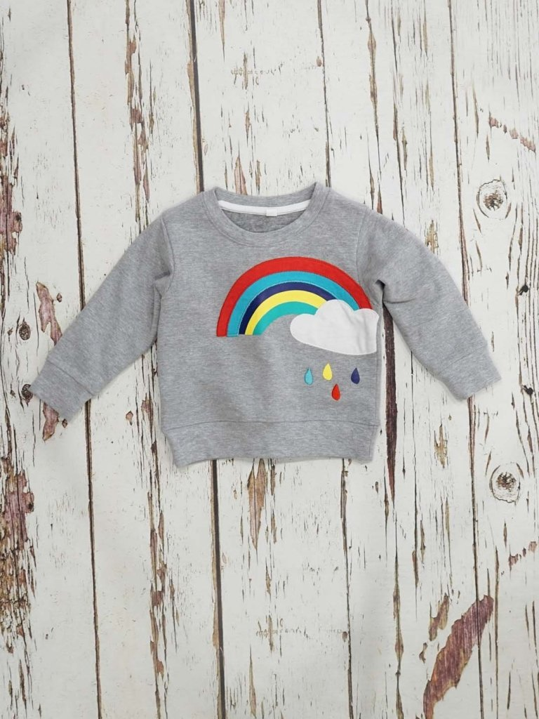 Bambinista-BLADE & ROSE-Tops-Sweater Rainbow