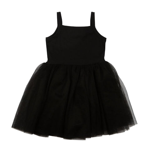 Bambinista-BOB & BLOSSOM-Dresses-Tutu Dress Classic Black