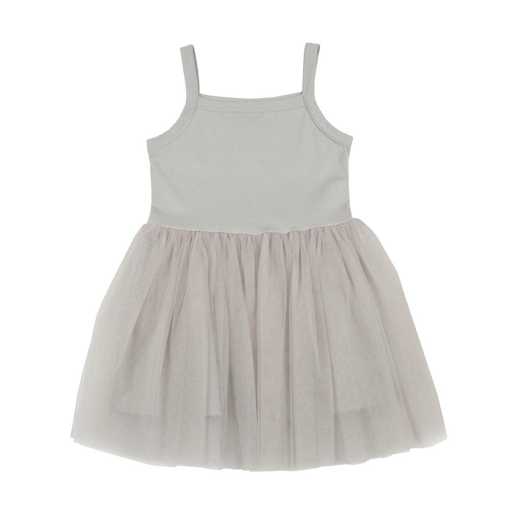 Bambinista-BOB & BLOSSOM-Dresses-Tutu Dress Silver Grey