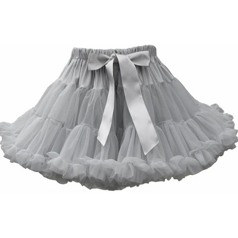 Bambinista-BOB & BLOSSOM-Bottoms-Tutu Skirt Pale Grey