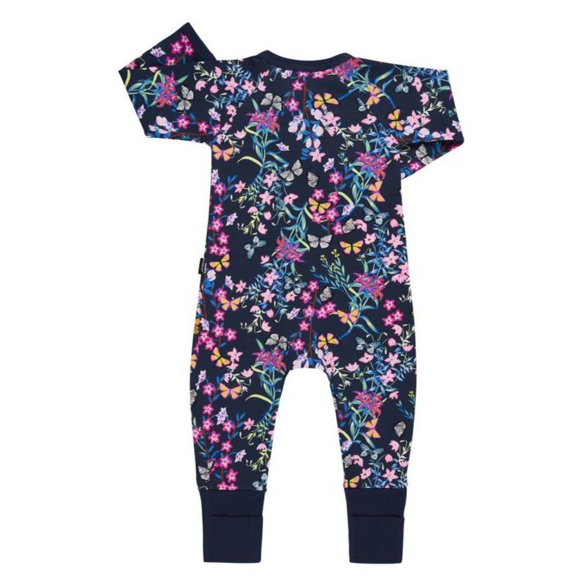 Bambinista-BONDS-Rompers-BONDS Zip Wondersuit Blossoming Butterfly