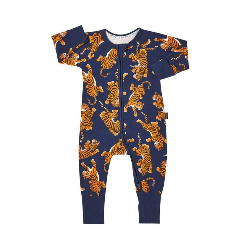 Bambinista-BONDS-Rompers-Bonds Zip Wondersuit Climbing Tigers