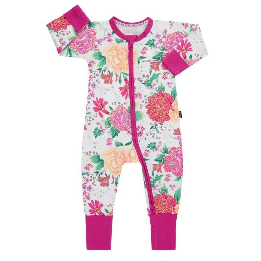 Bambinista-BONDS-Rompers-BONDS Zip Wondersuit Pretty Posie