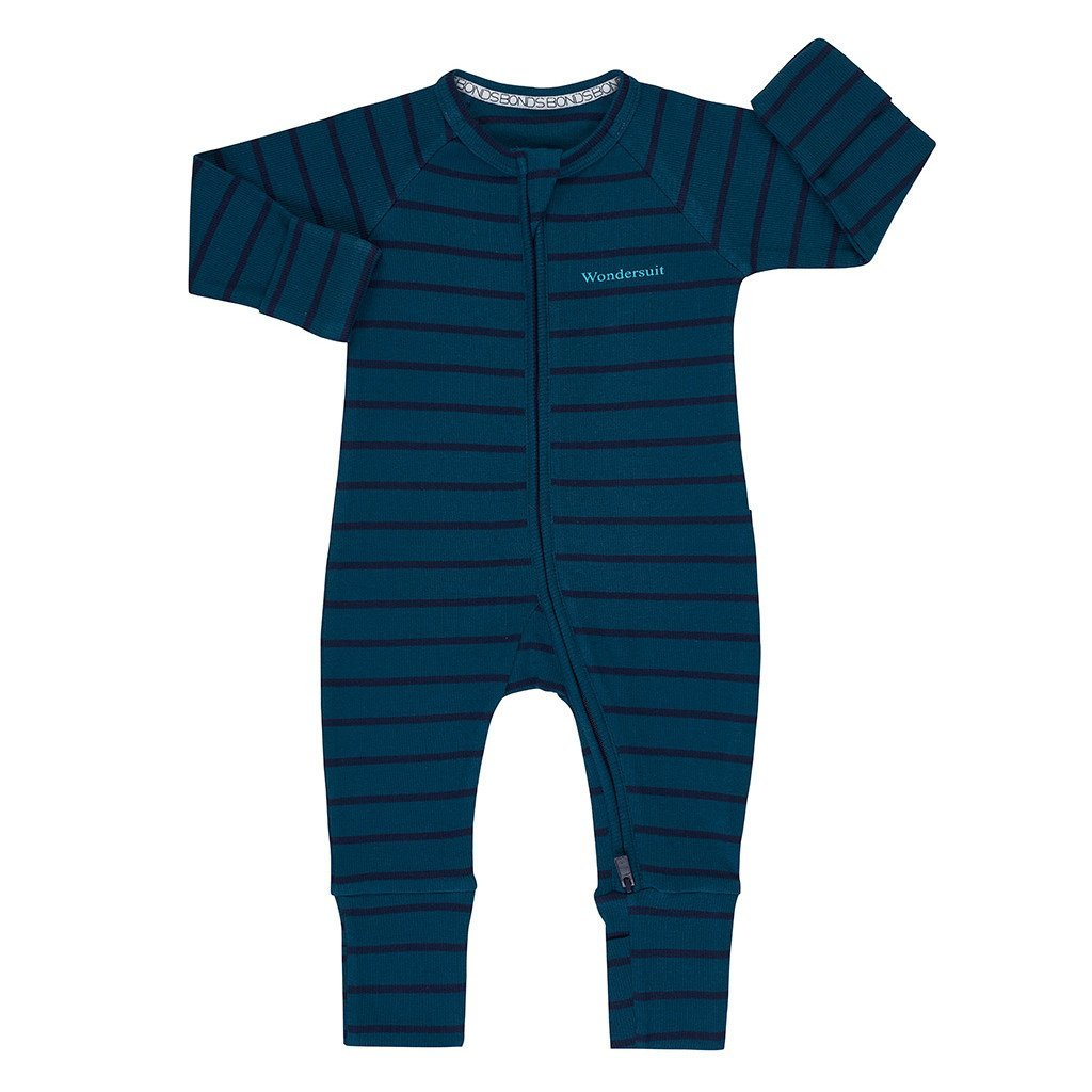 Bambinista-BONDS-Rompers-Bonds Zip Wondersuit Solar Spirit/Black Sea