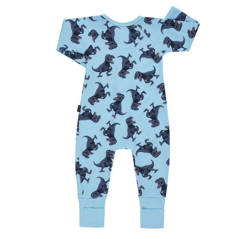 Bambinista-BONDS-Rompers-BONDS Zip Wondersuit T-Rex Party