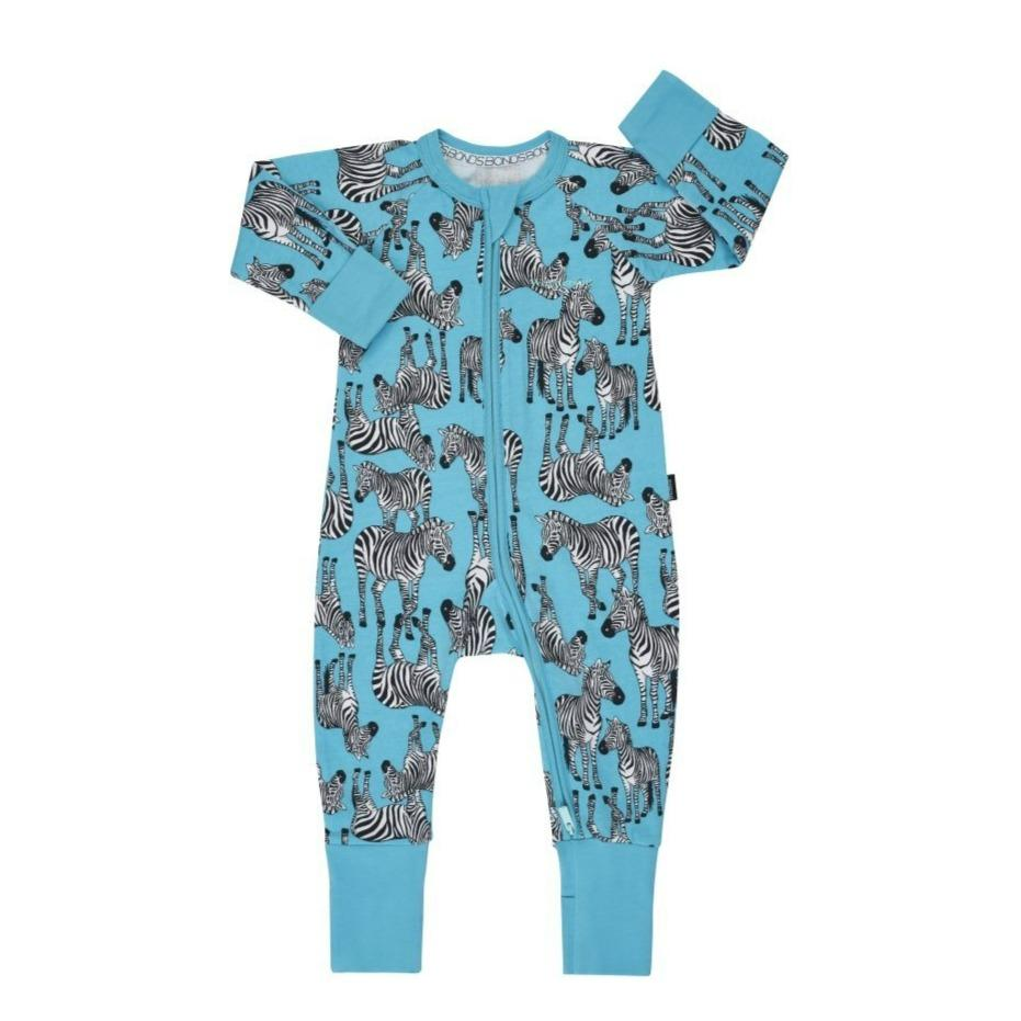 Bambinista-BONDS-Rompers-Bonds Zip Wondersuit Zulu Zebra