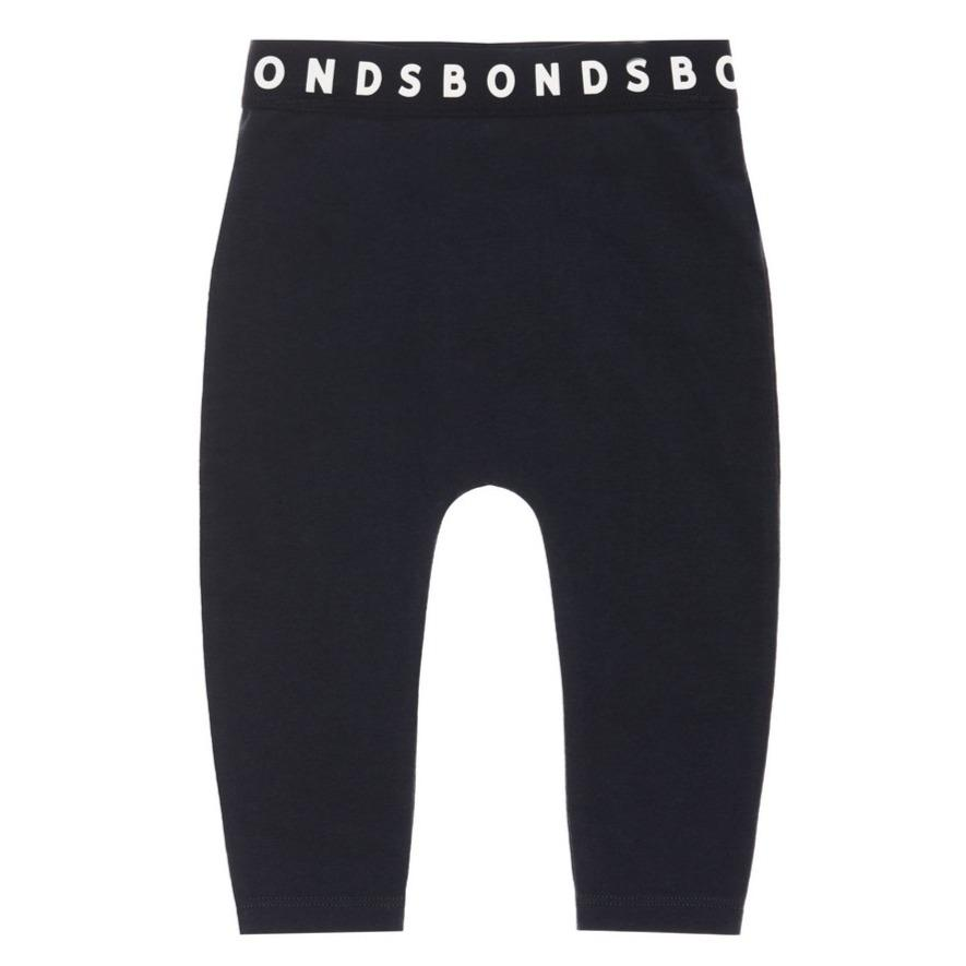 Bambinista-BONDS-Bottoms-Leggings Black