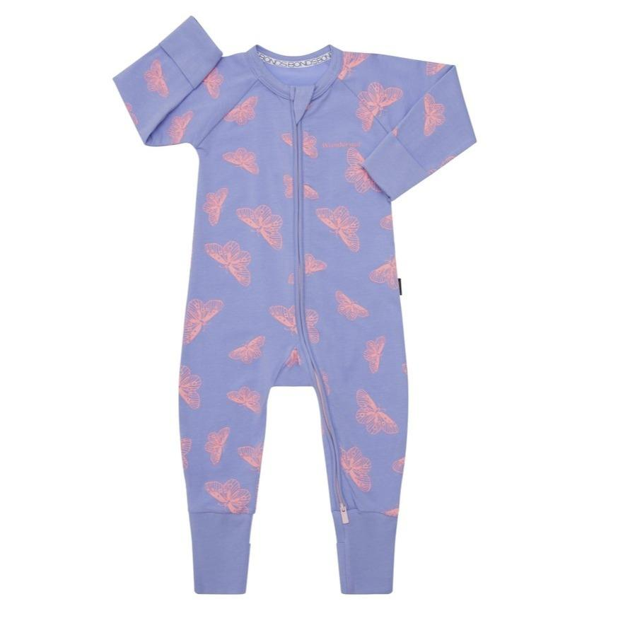 Bambinista-BONDS-Rompers-Zip Wondersuit Bushwalk Butterfly