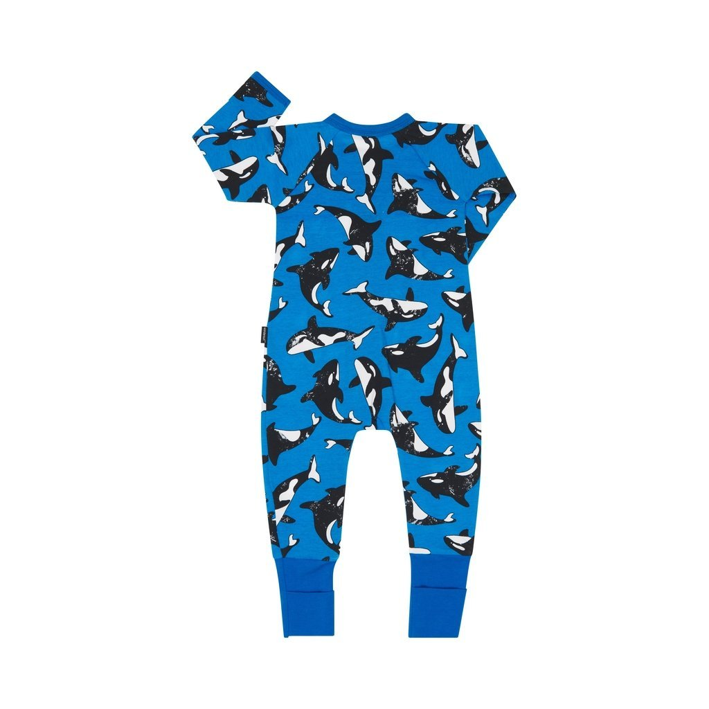 Bambinista-BONDS-Rompers-Zip Wondersuit Killer Whale
