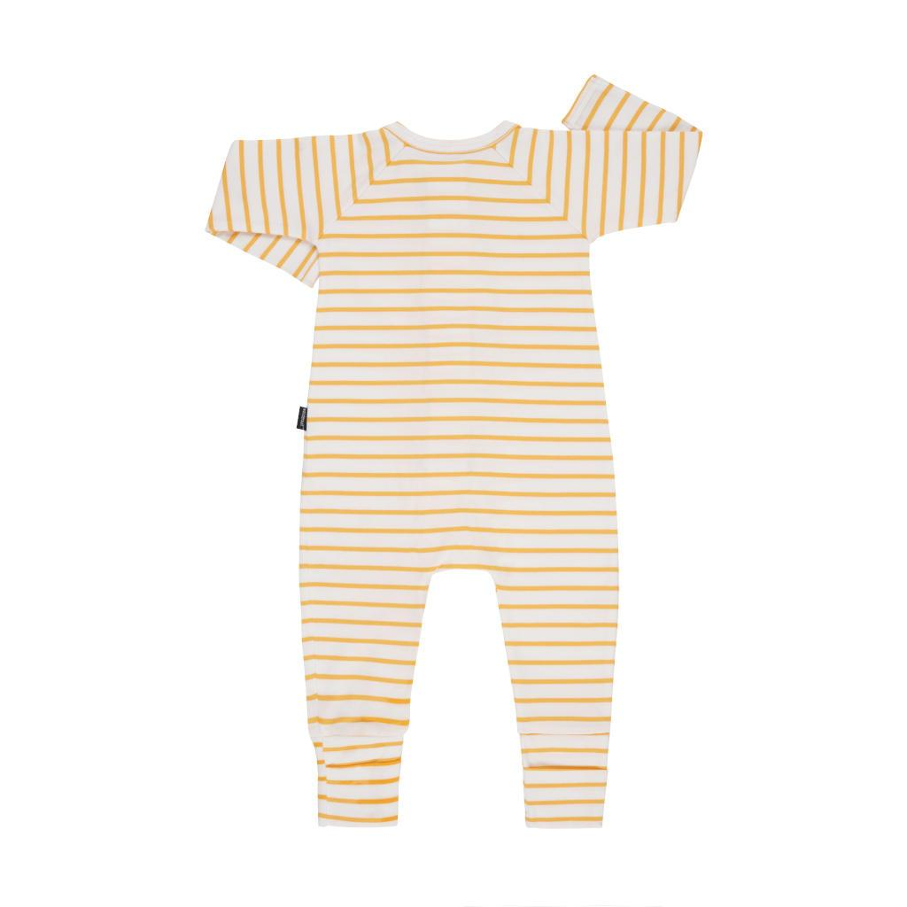 Bambinista-BONDS-Rompers-Zip Wondersuit Stripe Marigold