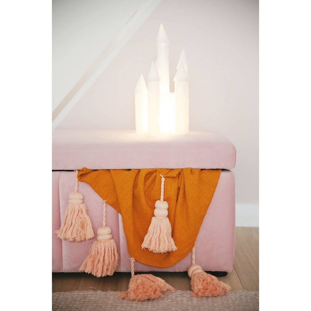 Bambinista-BRIGHT SIDE COMPANY-Decor-LED Table Lamp Princess Castle - Battery Operated