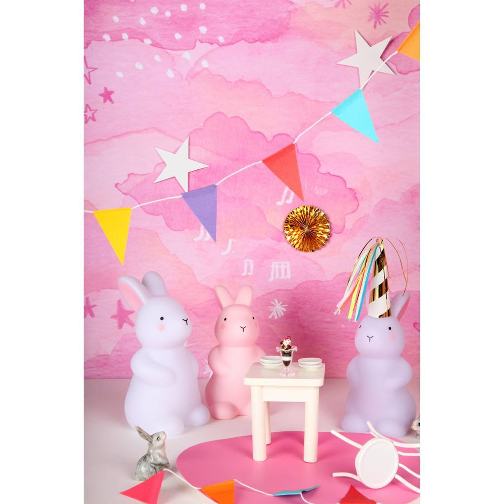 Bambinista-BRIGHT SIDE COMPANY-Decor-Little Light Bunny Pink