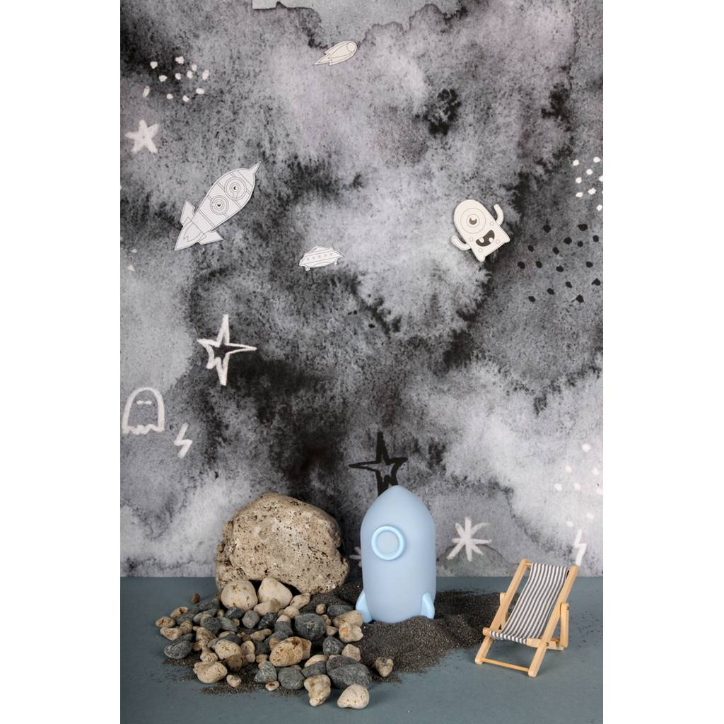 Bambinista-BRIGHT SIDE COMPANY-Decor-Little Light Space Rocket Blue