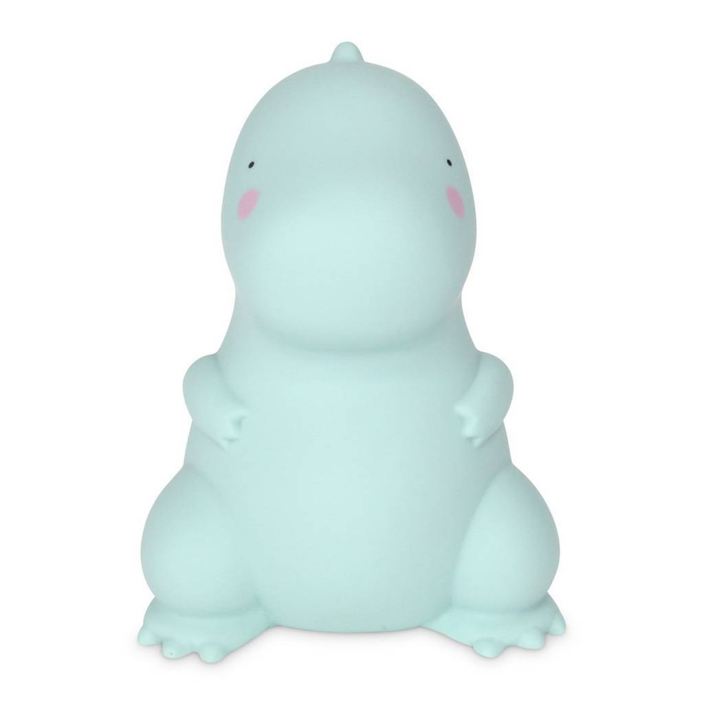 Bambinista-BRIGHT SIDE COMPANY-Decor-Little Light Tyrannosaurus Blue