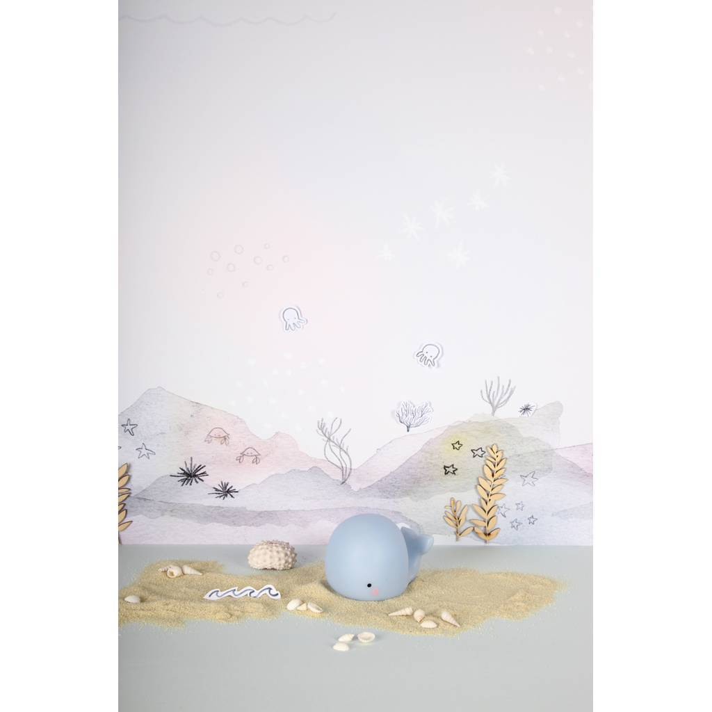Bambinista-BRIGHT SIDE COMPANY-Decor-Little Light Whale Blue
