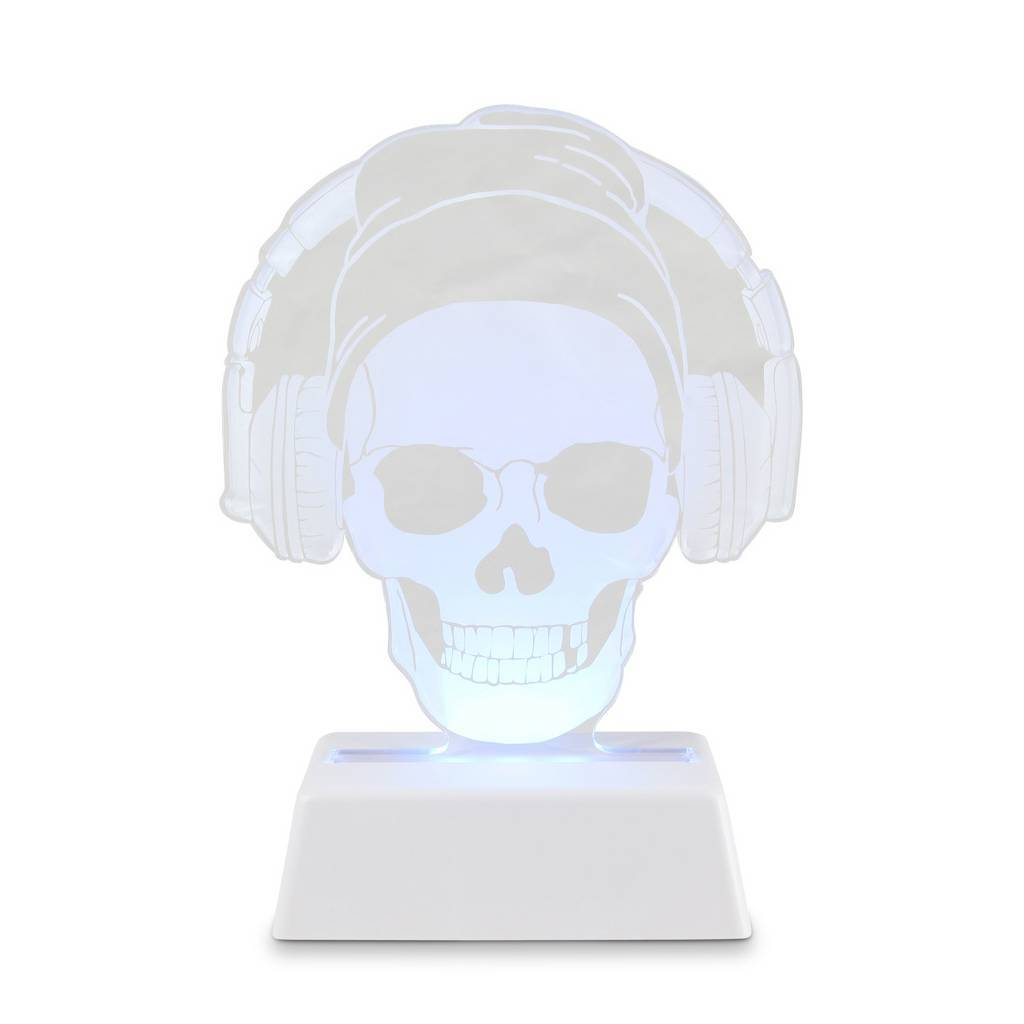Bambinista-BRIGHT SIDE COMPANY-Decor-Remote Controlled Night Light Skull