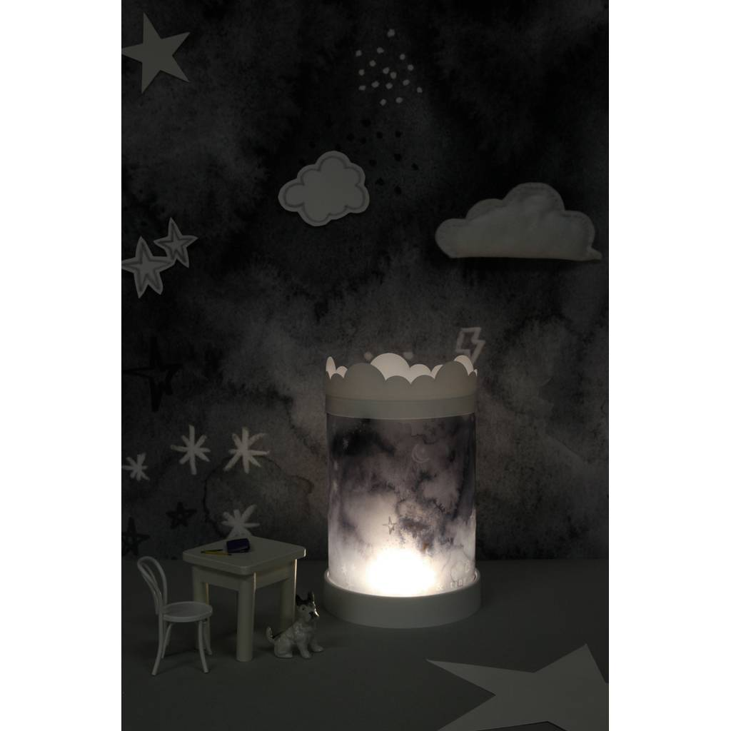 Bambinista-BRIGHT SIDE COMPANY-Decor-Table Lamp - Black Sky