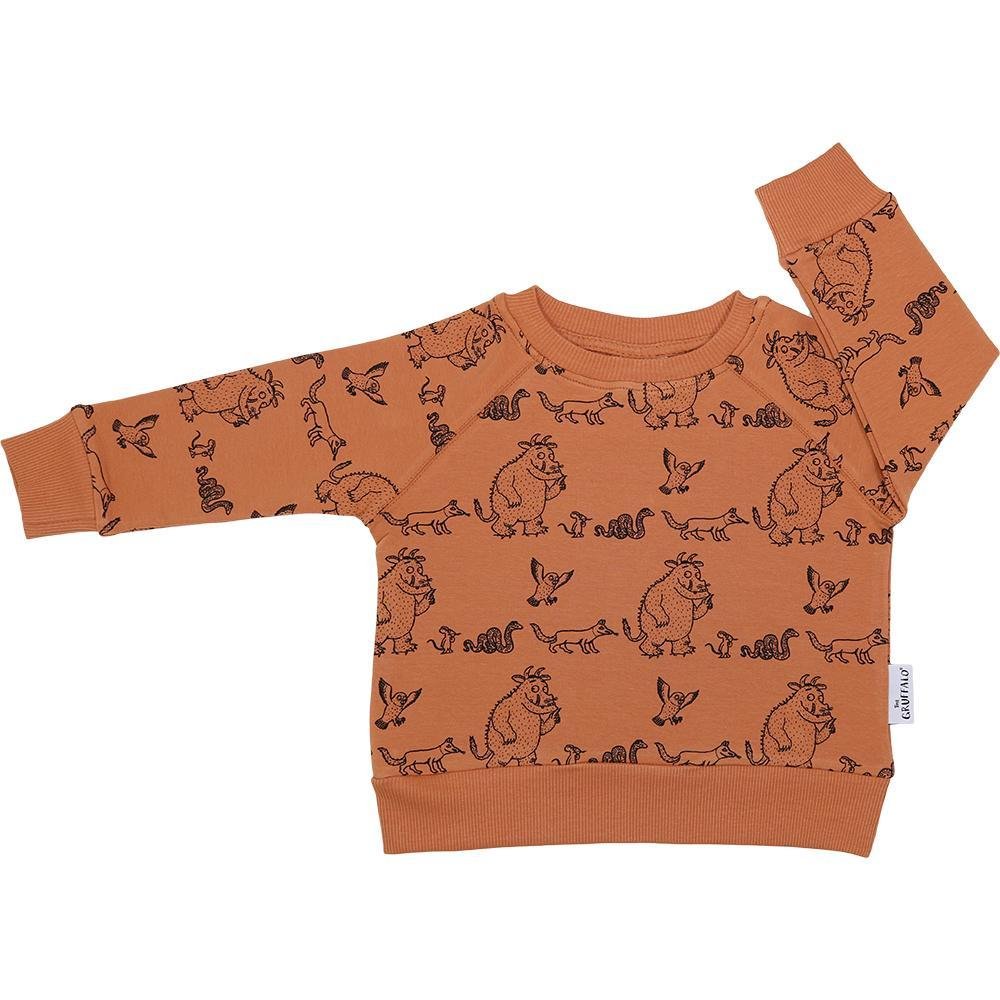 Bambinista-CRIBSTAR-Tops-Gruffalo and Friends Sweatshirt