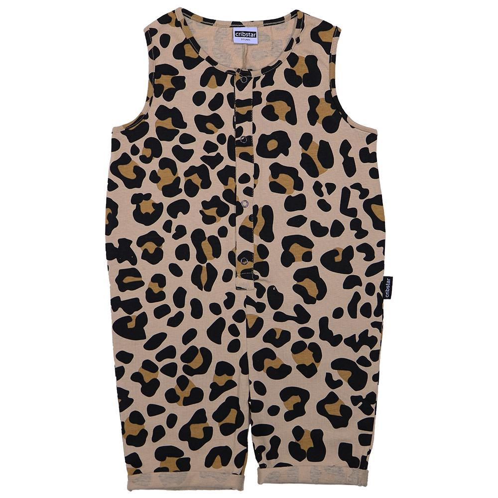 Bambinista-CRIBSTAR-Dungarees-Leopard Shorty Romper