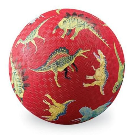 Bambinista-CROCODILE CREEK-Toys-18cm Playball - Dinosaurs Red