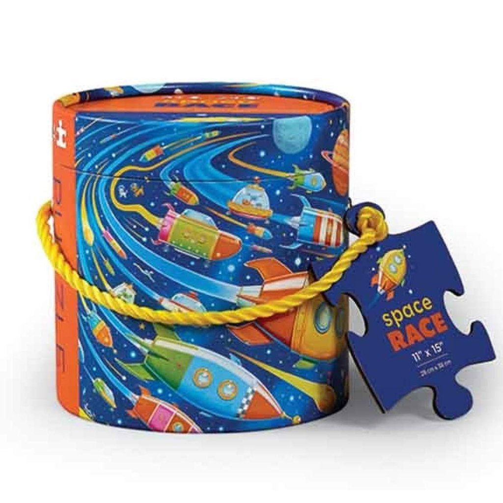 Bambinista-CROCODILE CREEK-Toys-24pc Mini Canister - Space Race