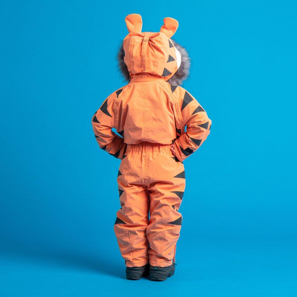 Bambinista-DINOSKI-Outerwear-Pounce - Tiger Themed Ski Suit