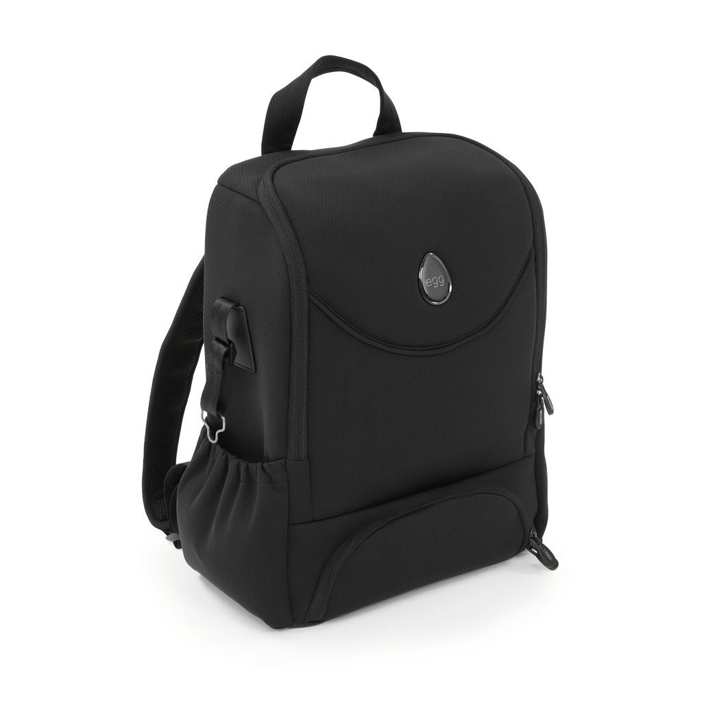 Bambinista-EGG-Travel-Egg 2 Backpack - Just Black
