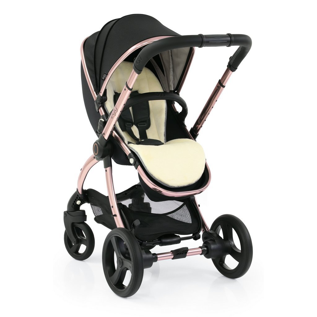 Bambinista-EGG-Travel-Egg 2 Luxury Bundle Special Edition with Egg Shell Car Seats - Diamond Black