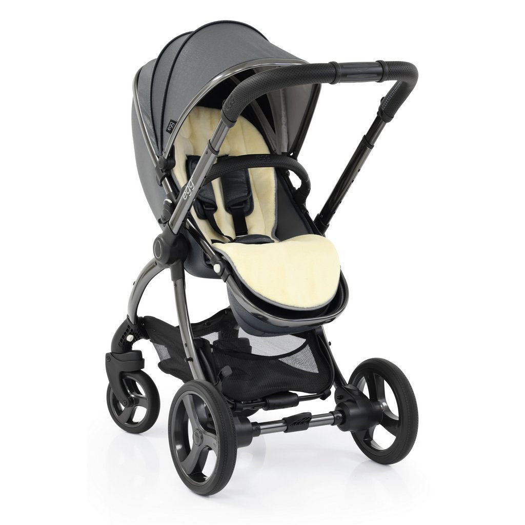 Bambinista-EGG-Travel-Egg 2 Luxury Bundle Special Edition with Egg Shell Car Seats - Jurassic Grey