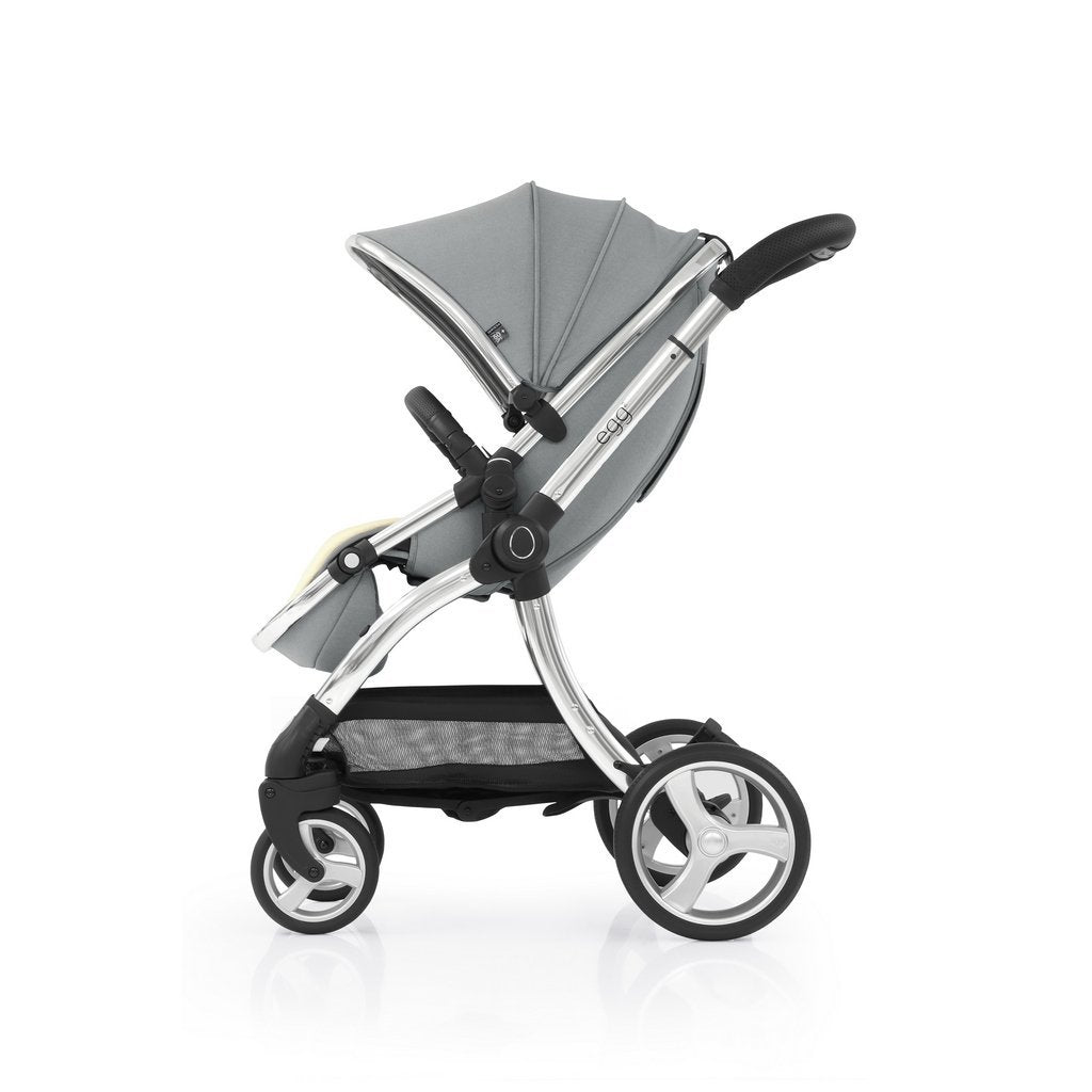Bambinista-EGG-Travel-Egg 2 Luxury Bundle with Egg Shell Car Seats - Monument Grey