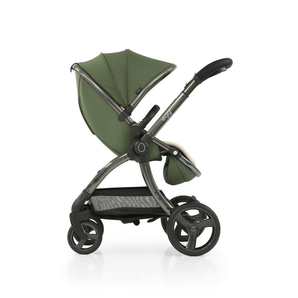 Bambinista-EGG-Travel-Egg 2 Luxury Travel System with Maxi-Cosi Cabriofix Car Seat - Olive