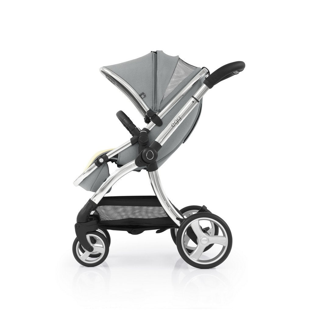 Bambinista-EGG-Travel-Egg 2 Luxury Travel System with Maxi-Cosi Pebble Pro Car Seat - Monument Grey