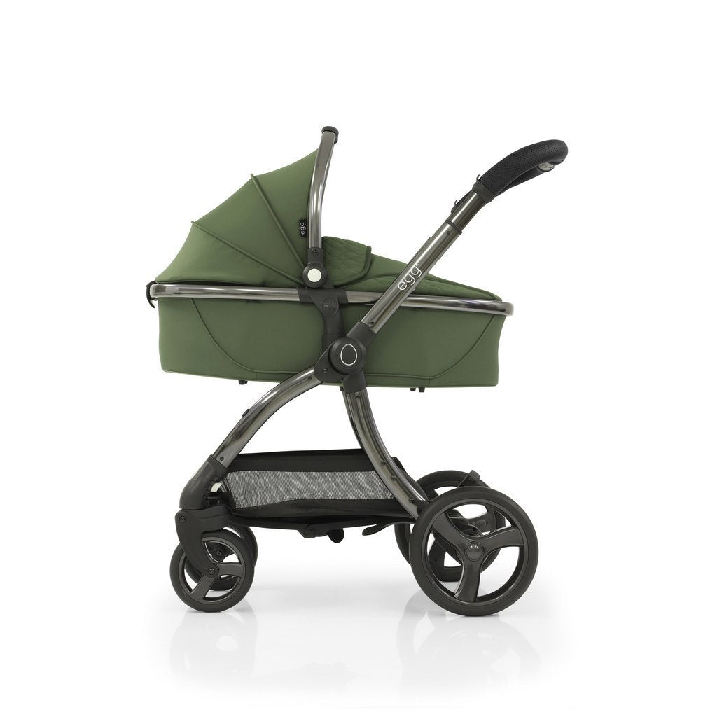 Bambinista-EGG-Travel-Egg 2 Luxury Travel System with Maxi-Cosi Pebble Pro Car Seat - Olive