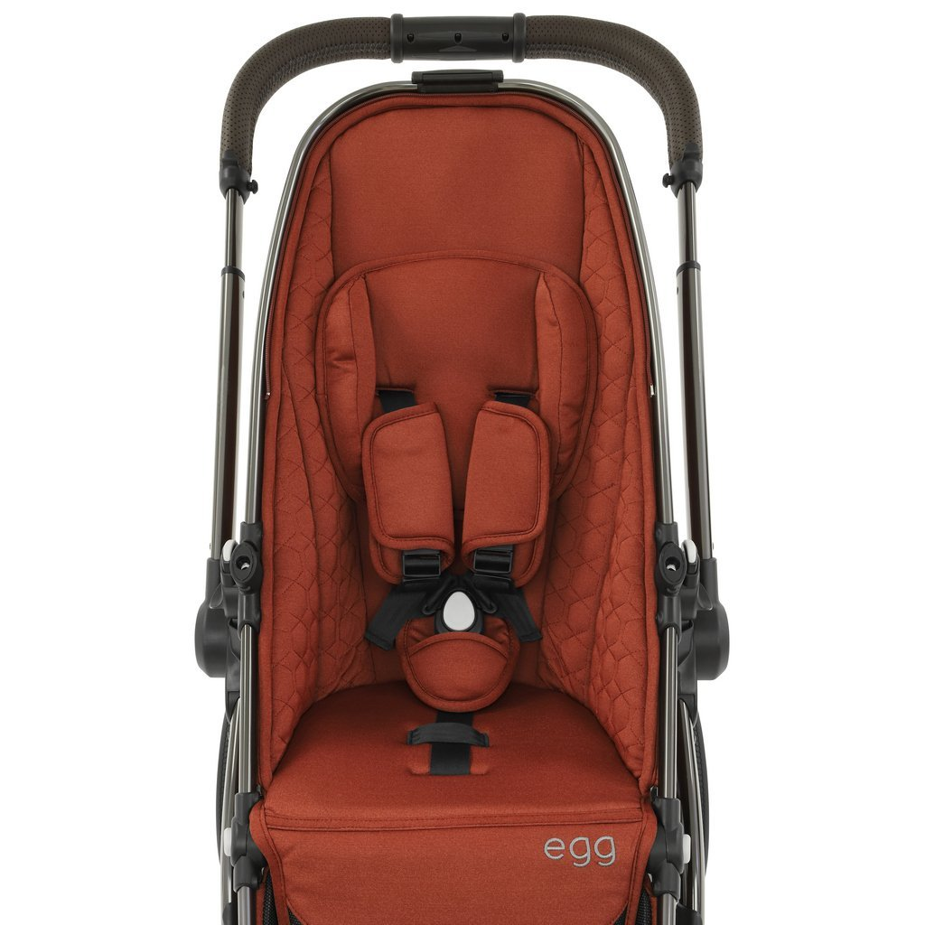 Bambinista-EGG-Travel-Egg 2 Stroller - Monument Grey (Mirror Frame)