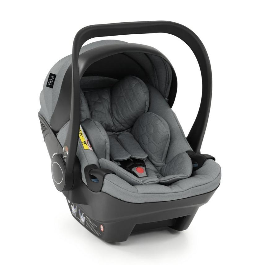 Bambinista-EGG-Travel-Egg Shell Infant Car Seat (i-Size) - Monument Grey