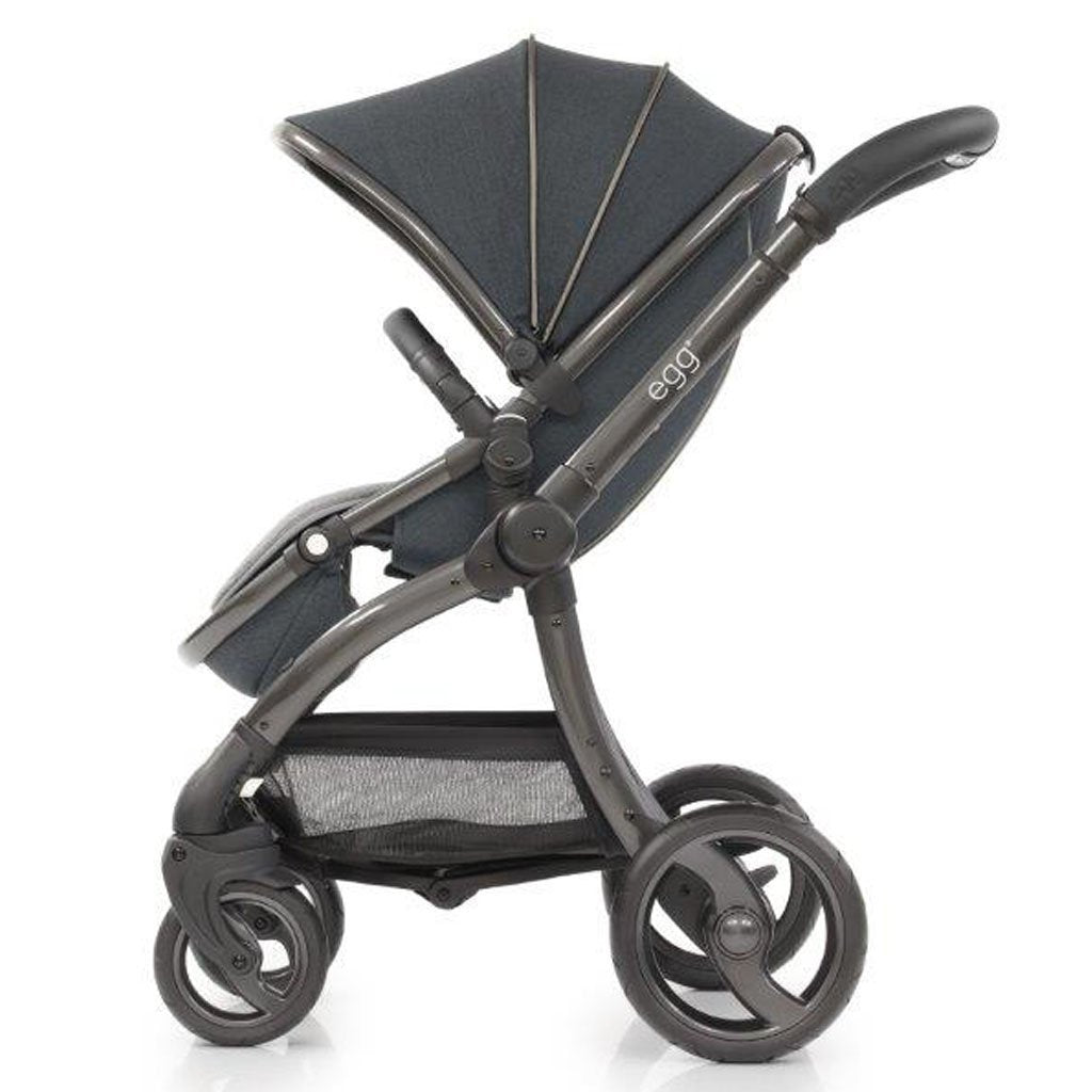 Bambinista-EGG-Travel-Egg Stroller - Carbon Grey