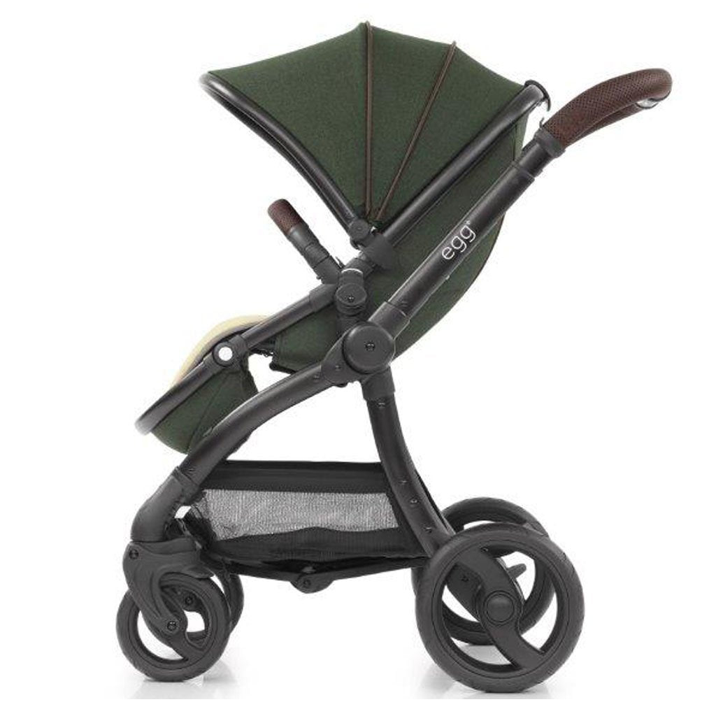 Bambinista-EGG-Travel-Egg Stroller - Country Green