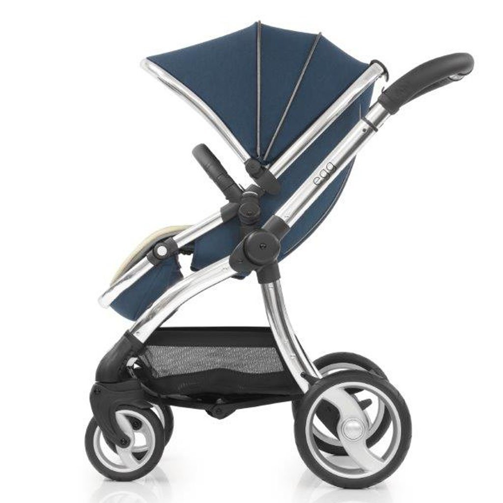 Bambinista-EGG-Travel-Egg Stroller - Deep Navy