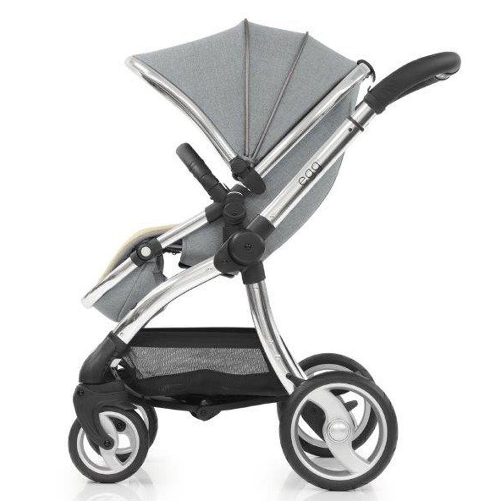 Bambinista-EGG-Travel-Egg Stroller - Platinum