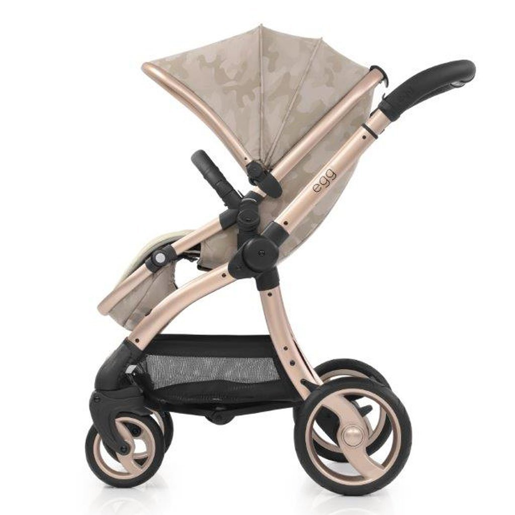 Bambinista-EGG-Travel-Egg Stroller Special Edition Package - Camo Sand (with Backpack)