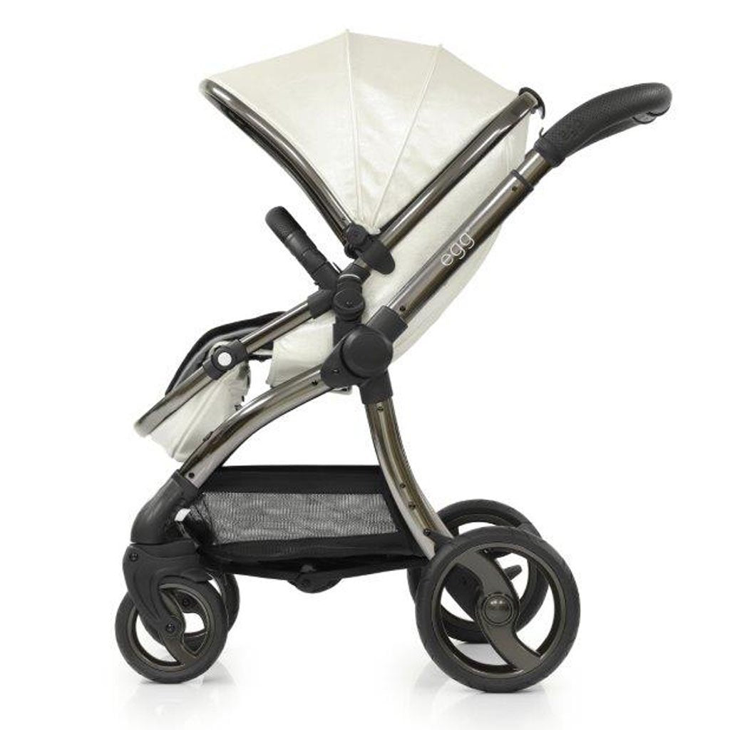 Bambinista-EGG-Travel-Egg Stroller Special Edition Package - Pearl (with Changing Bag)