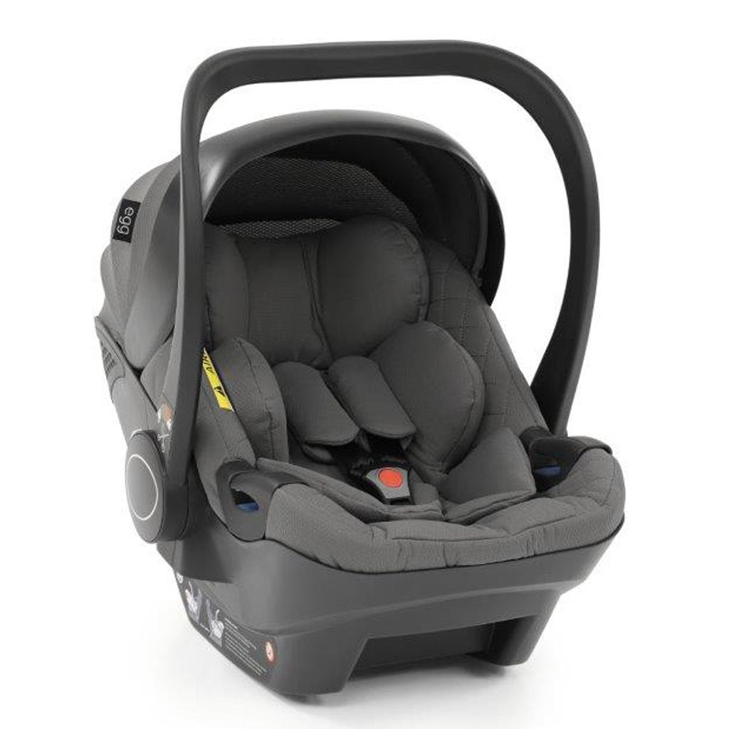 Bambinista-EGG-Travel-Ex-Display Anthracite Shell Car Seat & Isofix Base Together