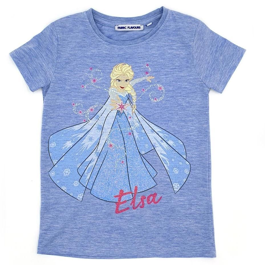 Bambinista-FABRIC FLAVOURS-Tops-Frozen 2 Tee Elsa Blue Marle