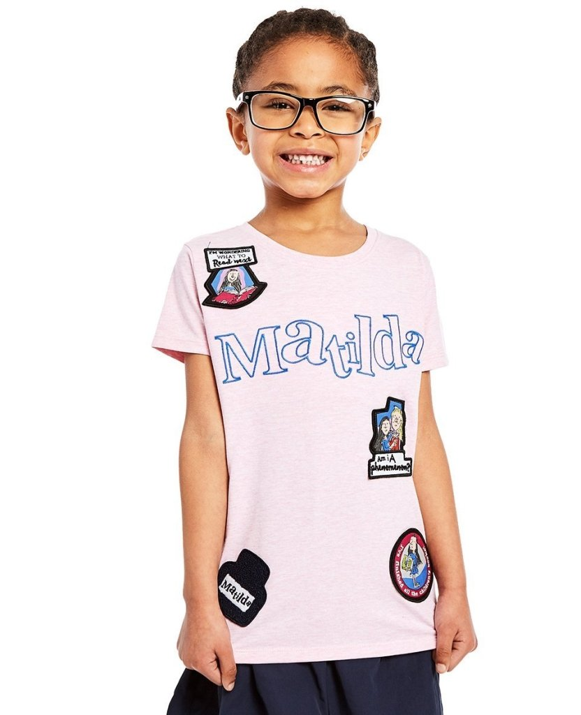 Bambinista-FABRIC FLAVOURS-Tops-Matilda Badge Tee (ST)